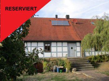 Schones Fachwerkhaus Mit Garagengebaude Und Garten Im Raum Sesslach