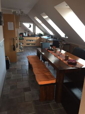 Dachgeschosswohnung in Nahe