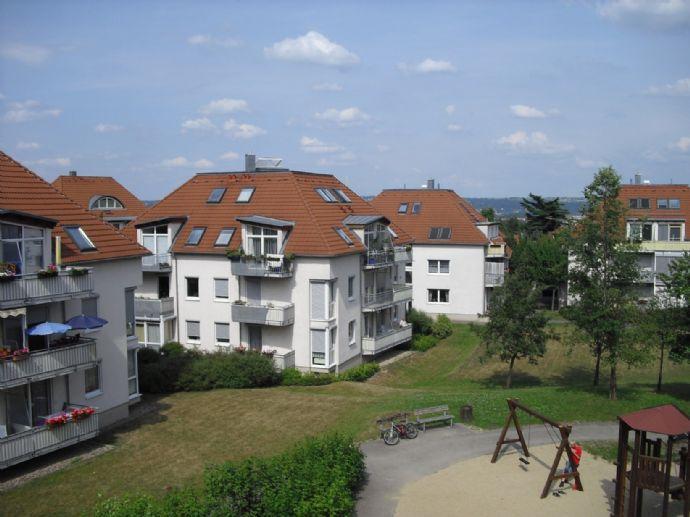 Kapitalanlage oder Eigennutz - 1-Raum-Wohnung mit großen Balkon in ruhiger Lage