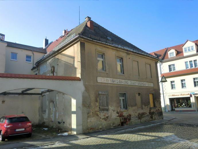 Zwei- bis Dreifamilienhaus in der Innenstadt von Großenhain