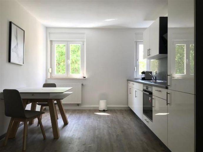 Ganz nahe des Ostparks: Schick möblierte und frisch sanierte 2-Zimmer-Wohnung mit Balkon