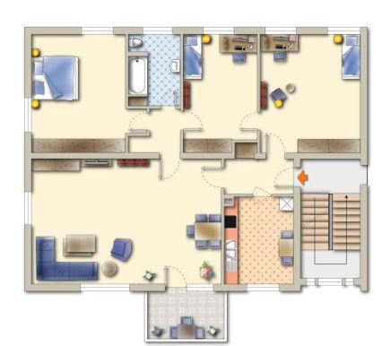 Top 4-Zimmer-Wohnung mit Balkon