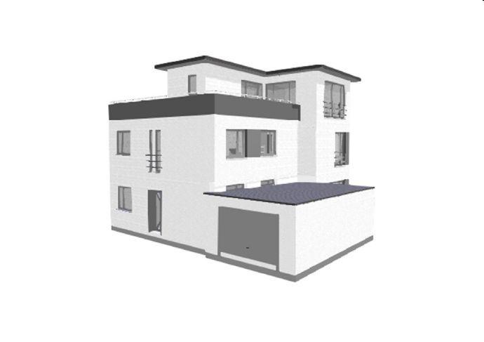 Sie haben das Grundstück? Wir bauen Ihr Haus! Gesamtwohnfläche: 178,01 m² zzgl. Dachterrasse: 49,15 m² und Garage: 29,00 m²
