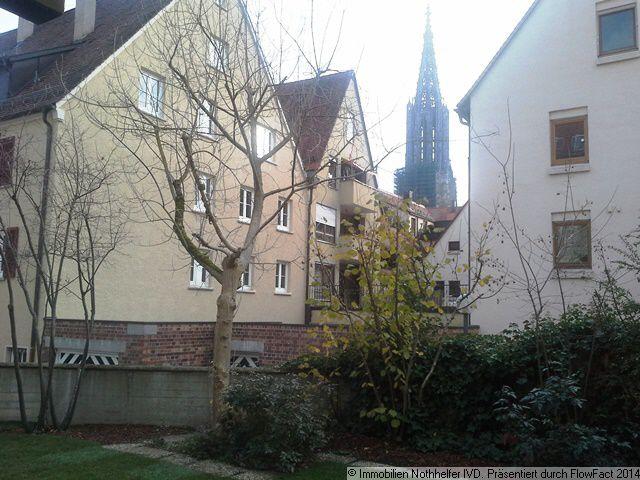 ein Katzensprung vom Ulmer Münster entfernt