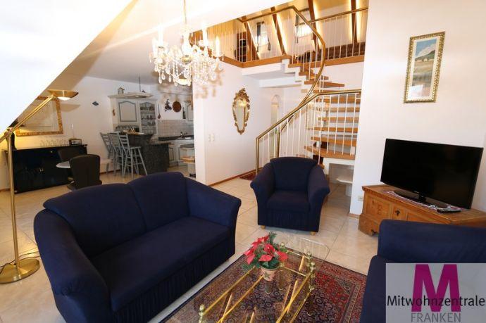 Schöne 3-Zimmer-Maisonette direkt an der Pegnitz gelegen