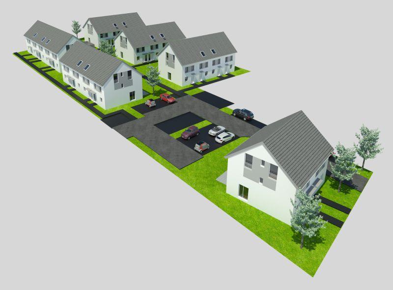 Modernes Neubauprojekt in einem attraktiven und familienfreundlichen Wohngebiet
